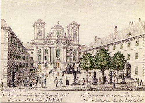 Maria Treu - historische Ansicht